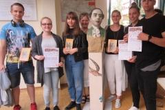 Schülerinnen und Schüler Klasse 10 c des Schuljahres 205/2016 der Georg Forster Gesamtschule Wörrstadt mit Klassenlehrerin  Frau Fabry-Seebald