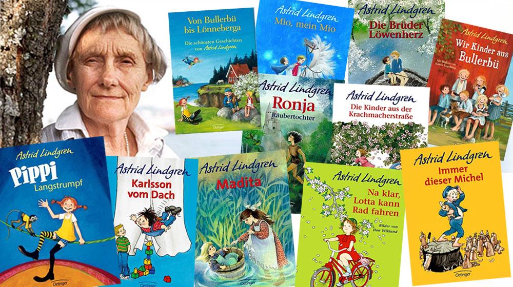Astrid Lindgren Bekannteste Bücher